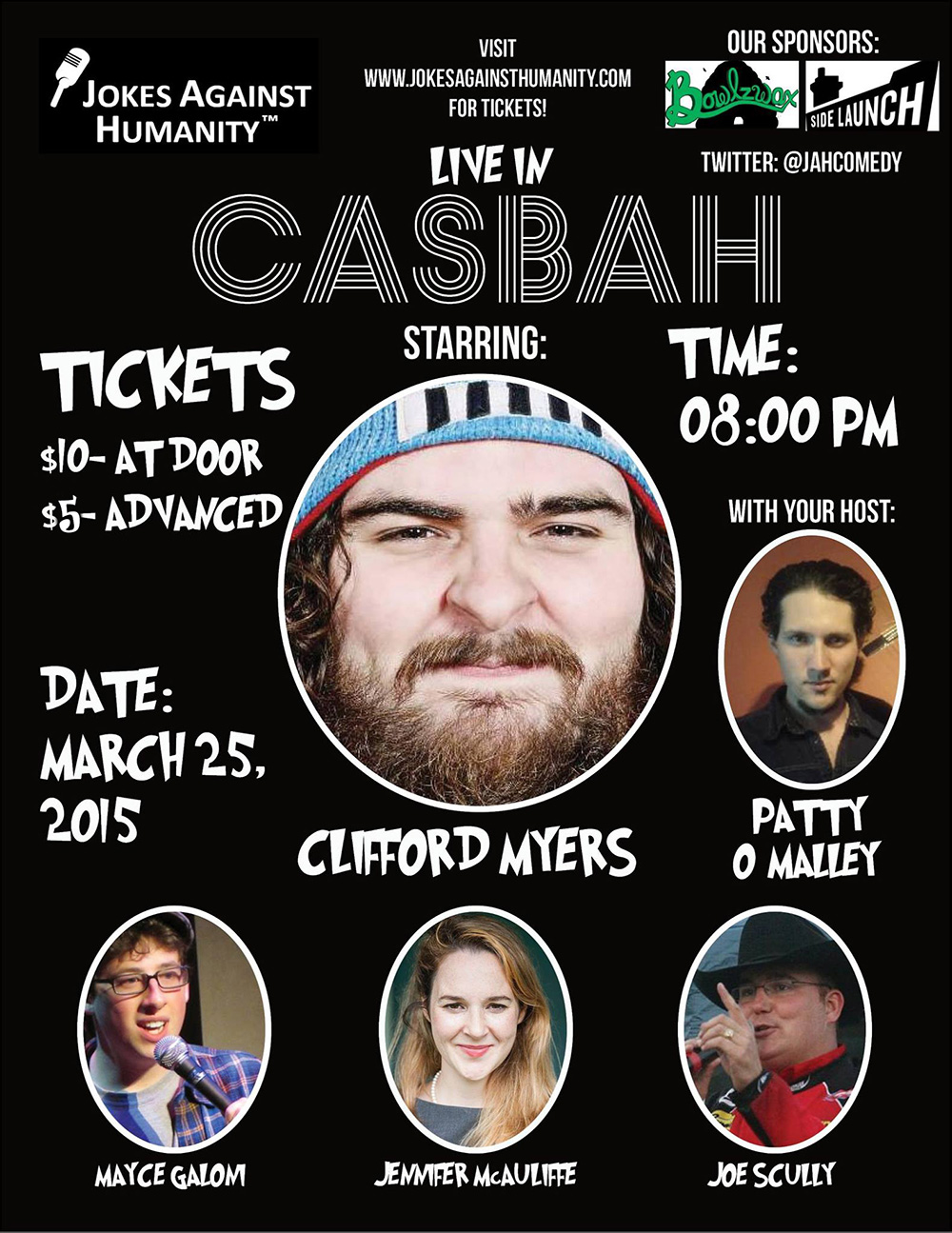 Casbah - Jokes Against Humanity - March 25