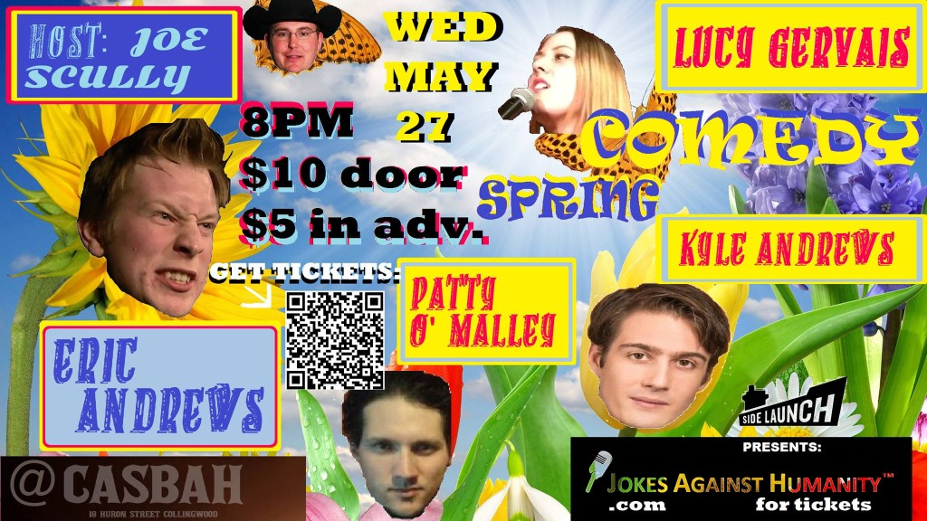 casbah may 27 comedy show