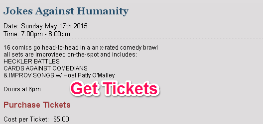 get tickets for comedy bar